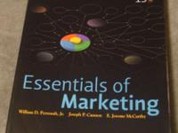 ISBN: 88-5 ESSENTIALS OF MARKETING by Perreault Jr,
