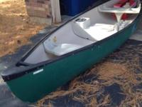 OT Sport Canoe, 14', 3 man, has cooler, cup holders,