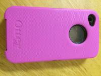 I am offering a black and pink otterbox instance in