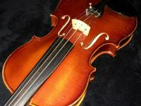 Used Otto Ernst Fischer 3/4 violin made in Germany in