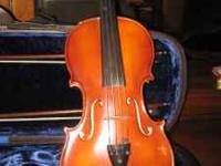 Full sized violin excellent condition, Otto Ernst