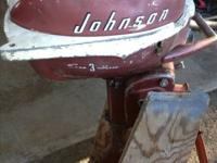 I have a vintage outboard for sale. It ran last time I