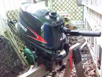 Hidea Outboard Motor 4hp. 4-stroke Outboard Motor.