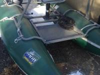 almost new raft great condition used only a few times