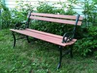Bench in great condition and has mostly been under