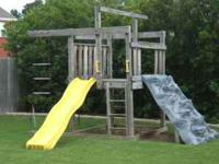 Swing N Slide Eagles Nest clubhouse / outdoor playset.