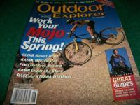 OUTDOOR EXPLORE, MAY JUNE 2000,11 TRAILS to Hike and