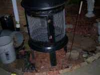 Sturdy Metal outdoor fireplace Asking $75 Call