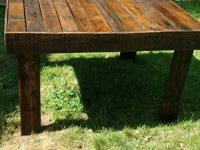 Handmade wooden picnic table 43x46x29 for sale for