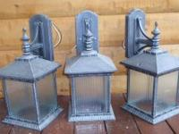 New Large downlight Exterior Sconce Org $114.00 each,