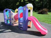 Hours of fun for your little ones on this large outdoor