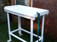 The ultimate fish cleaning and bait prep table! Perfect
