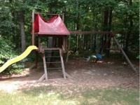 5 year old outdoor playset that our kids have outgrown.