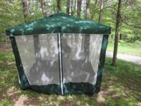 Deck Patio Lawn Umbrella & Screen Enclosure Insect Net