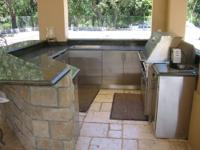 OUTDOOR Stainless Steel Kitchens, Stock cabinets, Semi
