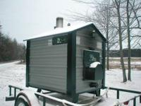 LATE 2011 WOODMASTER 4400 HOT WATER STOVE , WILL HEAT
