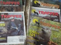 """The Trapper and Predator Caller"" Magazines for sale."