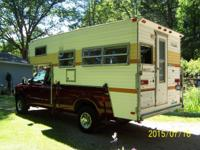 12 volt or 110 power, Camper has been stored in the