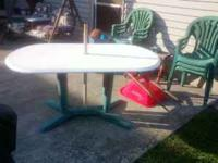 i have a oval approx 4ft long table and 6 plastic