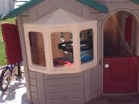 A Step 2 playhouse in good condition.  Need to get rid