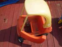 I have a outside toy car and I will take $4 for it and