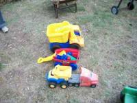 we have some real good outside toys for sale at 2 bucks