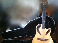 OVATION 12 STRING ACUSTIC ELECTRIC GUITAR, BUILT IN