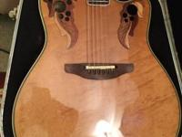 OVATION 1990 COLLECTOR'S SERIES Players condition,