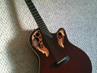 I am selling my Ovation Adamas 1597 for 800.00 obo.