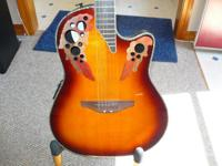 Ovation CC49S, Acoustic/Electric Guitar, Sunburst