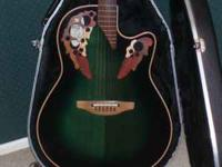 For sale: Ovation standard elite guitar.Practiclly