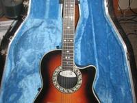 We have an Ovation model 1866 Legend Electric Acoustic