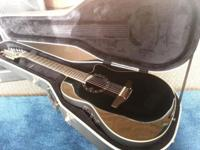 Ovation standard Balladeer 12 string for sale. Black