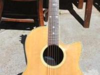 I have an Ovation Applause Acoustic / Electric Guitar