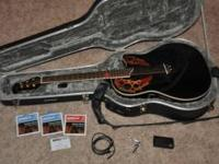 Ovation celebrity CC44 acoustic-electric guitar with