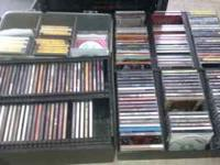 Over 100 CD's R&B, Hip Hop, Rap 80% originals. From