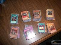 I am selling my collection of old yugioh cards as i do