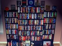 I am selling over 1300 DVDs from my collection to