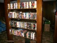 I have over 140 VHS videos. All in great shape with