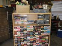 over 2,000 movies lot of them are disney, 20 cents