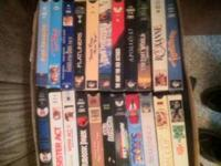 I have over 200 VHS movies most of them are still in a