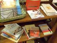 Large teen selection, some fiction, devotionals,