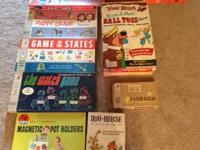 I have over 30 Complete in original packaging 1950's -