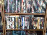 I have over 330 DVDs all in original cases new, and