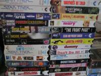 I have well over 3000 vhs movies for sale. I am asking