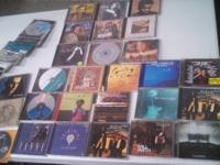 as you can see here are over 40 CDs various artists and
