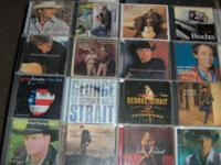 Selling over 50 Country & Country Christmas CD's as