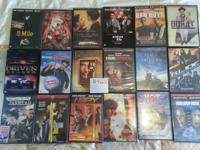 I am selling various DVD films at different rates. I am