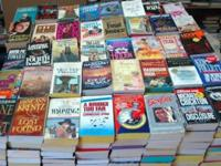 Over 500 paperback books, I have just closed up my