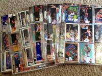 up for sale are all my basketball cards,have over 550
